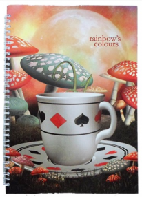 ТЕТРАДКА Rainbow Colors А4 100л тв.к. СП. 2т.