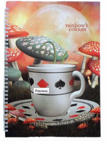 ТЕТРАДКА Rainbow Colors А5 150л м.к. СП 4т